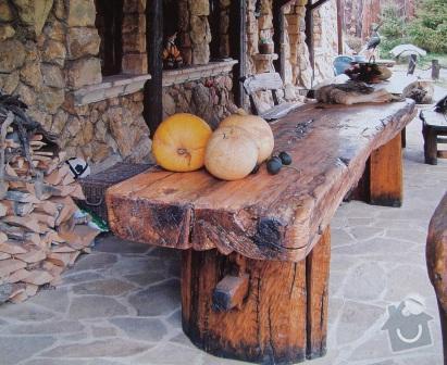 Výroba stolů, dveří a 2 lavic + řežbářství: photo38