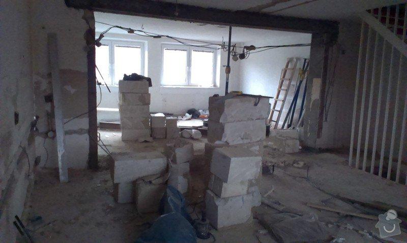 Vnitřní rekonstrukce řadového domu: IMAG0723