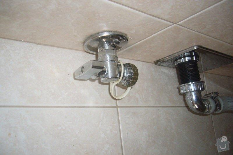 Výměna ventilu pračka + přípojka na žárovku: P1160343