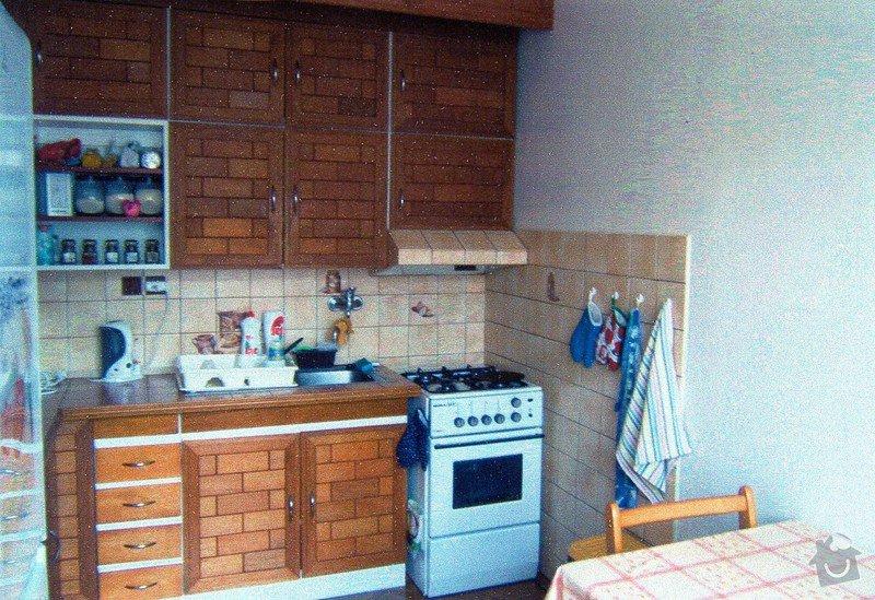 Rekonstrukce panelového bytu: kuchyne