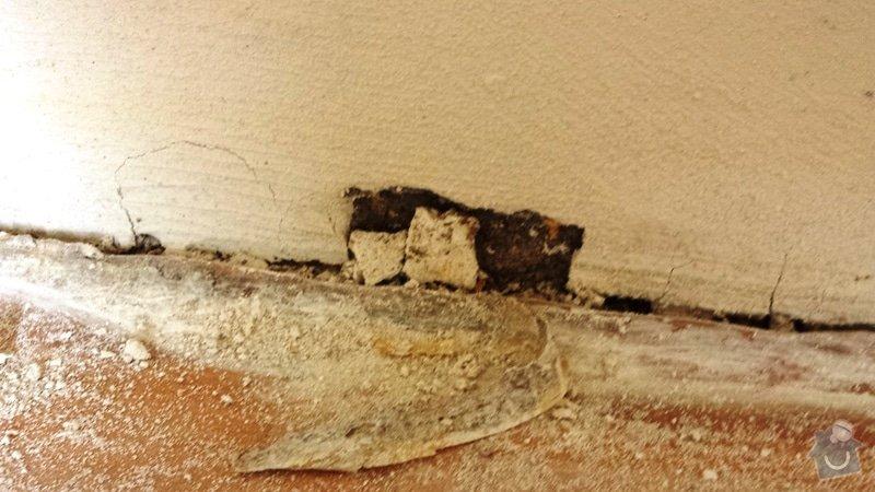 Malířské práce (oprava stěn, škrábání, štuk, výmalba): 20141002_104829