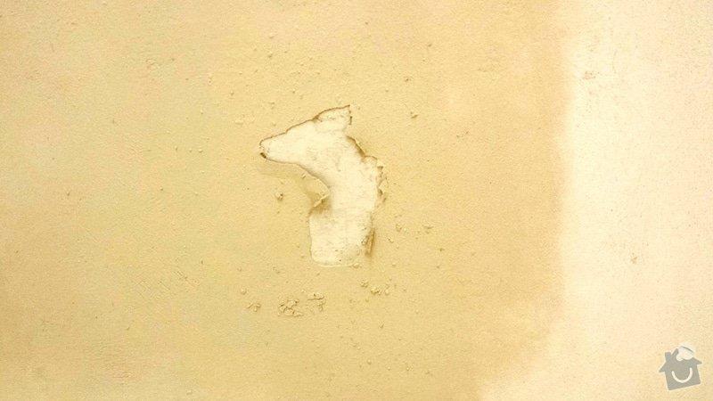Malířské práce (oprava stěn, škrábání, štuk, výmalba): 20141002_104859