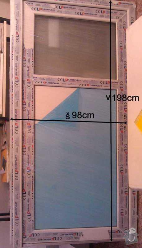 Výměna 2x vnitřních dveří v panel.domě (viz přílohy): DvereNoveU