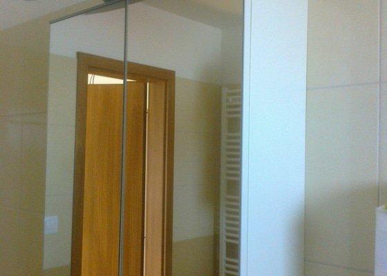 Výroba zrcadlové skříňky do koupelny - Zeleneč, Praha-východ