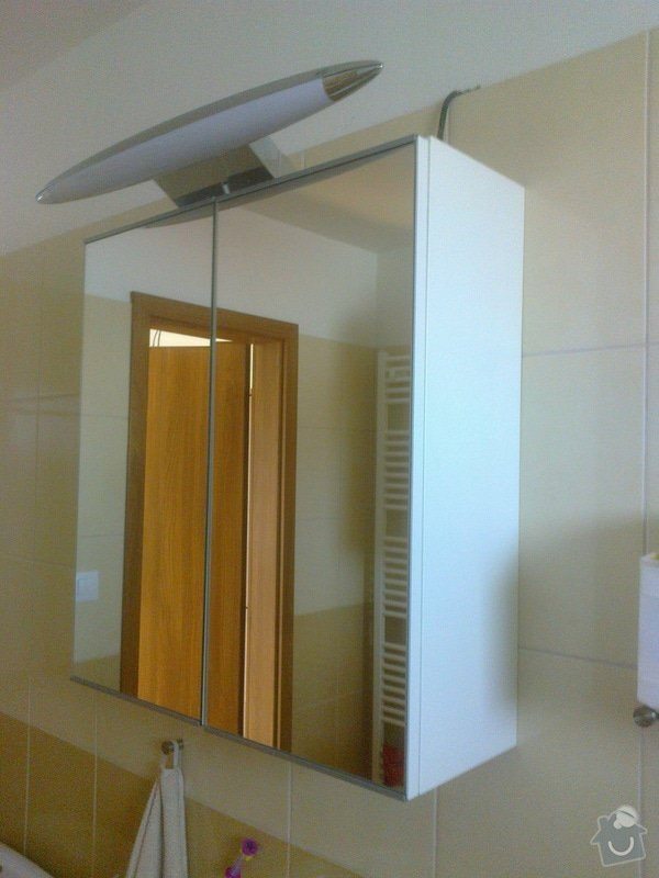 Výroba zrcadlové skříňky do koupelny - Zeleneč, Praha-východ: Fotografie0759