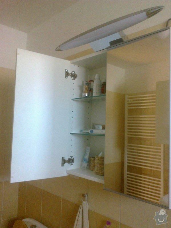 Výroba zrcadlové skříňky do koupelny - Zeleneč, Praha-východ: Fotografie0760