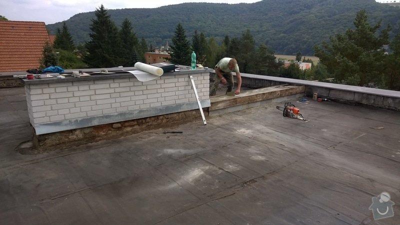 Zhotovení rovné střechy: 2014-09-10_15.42.49