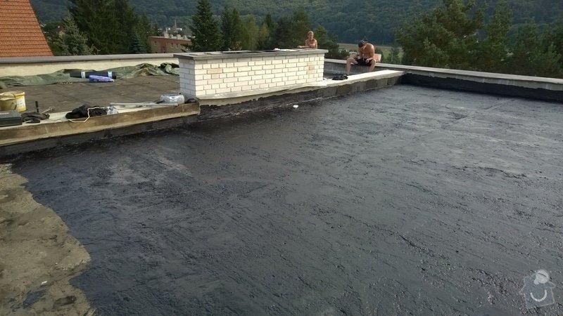 Zhotovení rovné střechy: 2014-09-16_15.24.30