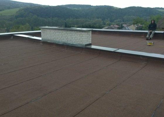 Zhotovení rovné střechy
