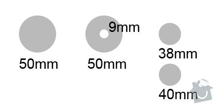 Výroba kruhové děrovačky na strojní lepenku - 50mm, 38mm: dfdfdf541