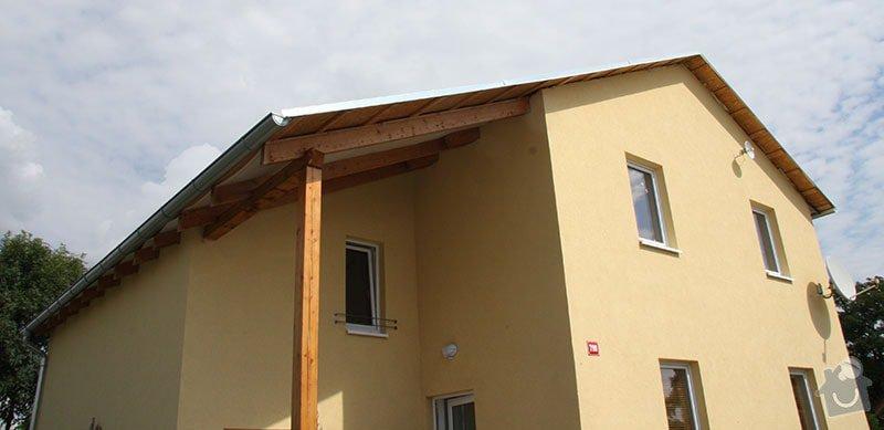 Podbití střechy RD: IMG_7079