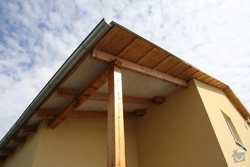 Podbití střechy RD: IMG_7080