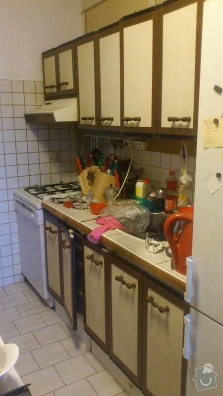 Stěhování, vyklízení: kuchyn