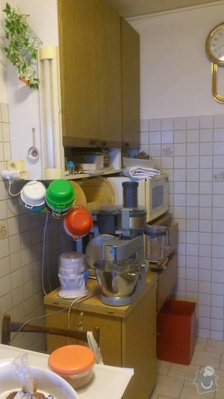 Stěhování, vyklízení: kuchynII