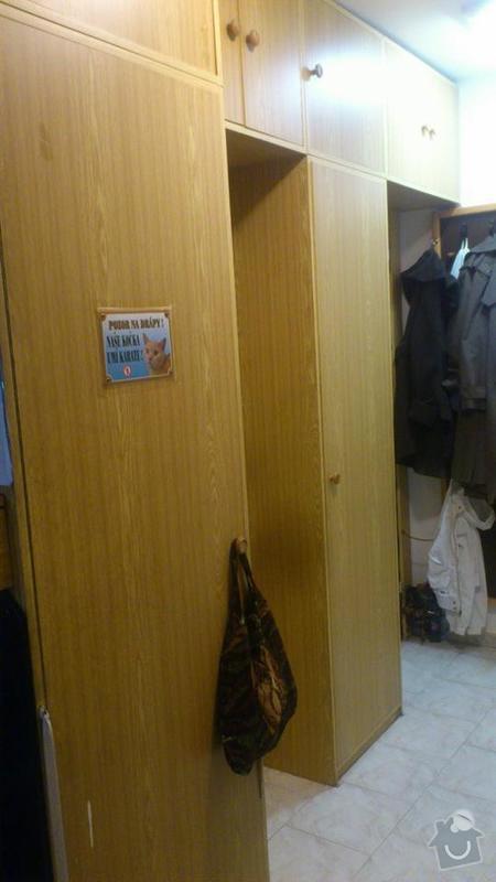 Stěhování, vyklízení: skrine