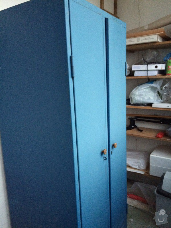 Přestěhování 1 plechové skříně: Skrin_1