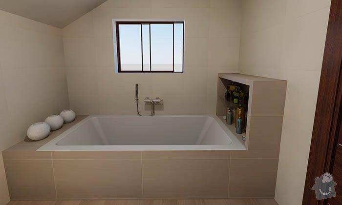 Dvě moderní koupelny v novostavbě RD - návrh: 06_moderni_neutralni_koupelna_2