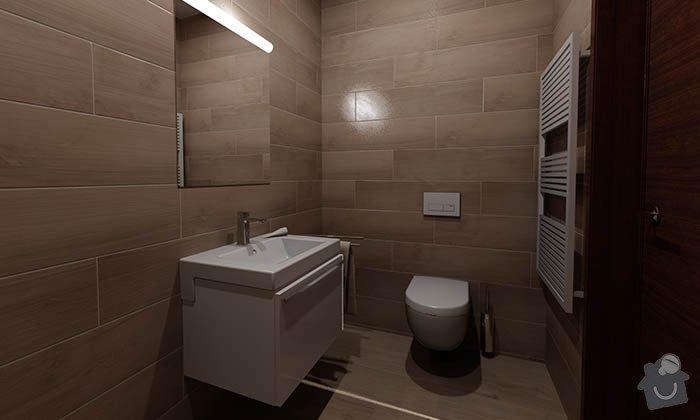 Dvě moderní koupelny v novostavbě RD - návrh: 12_moderni_koupelna_imitace_dreva_2