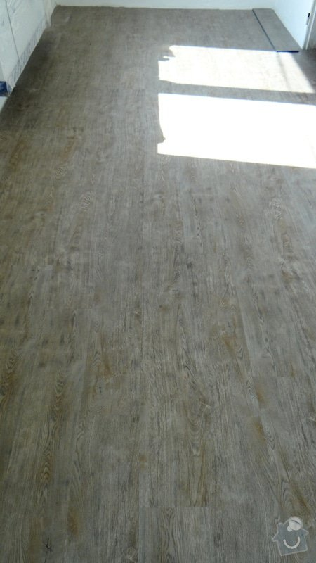 Pokládka vinylové podlahy Style Floor Click / Deblín: DSC05525