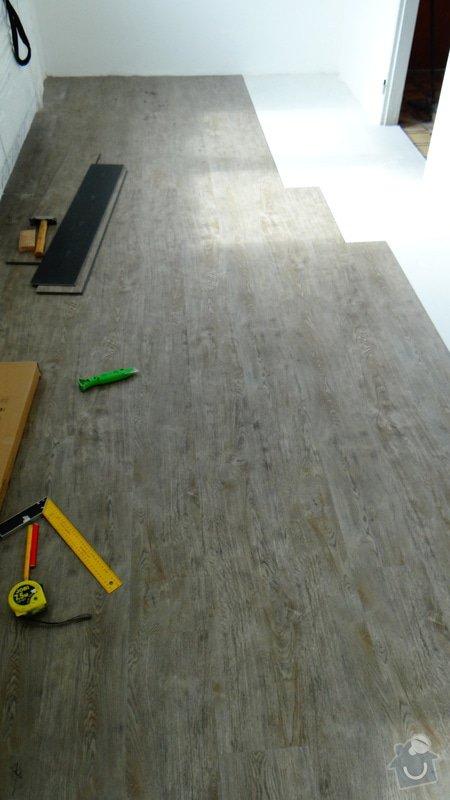 Pokládka vinylové podlahy Style Floor Click / Deblín: DSC05521