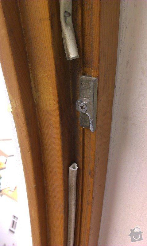 Seřízení (oprava) pantů dřevěného eurookna: IMAG0354