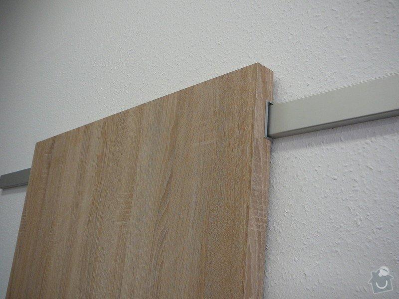 Posuvné dveře před stěnu : zasouvaci_na_hlinikove_liste-detail