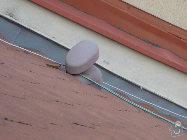 Opravu střechy činž.domu proti zatékání: 6
