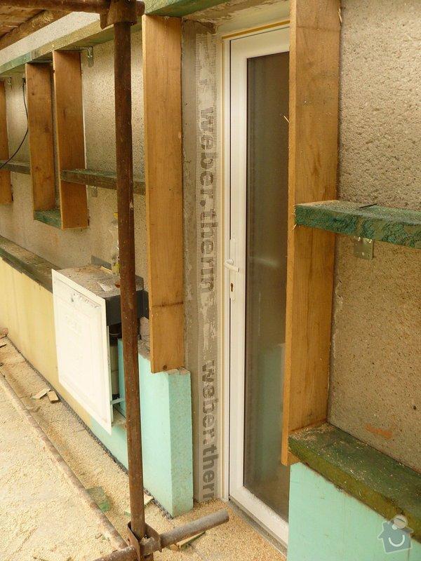 Zteplení fasády s odvětranou mezerou + pergola: P1110989