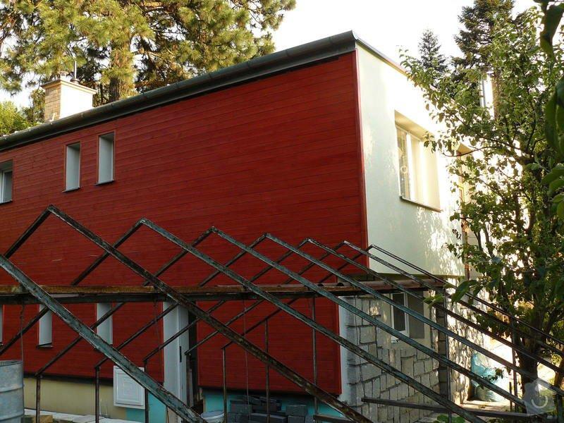 Zteplení fasády s odvětranou mezerou + pergola: P1120141