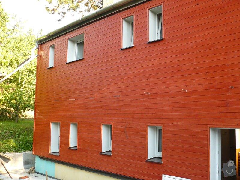 Zteplení fasády s odvětranou mezerou + pergola: P1120152
