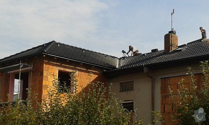 Hromosvod rodinný dům: 20140910_092940_1_