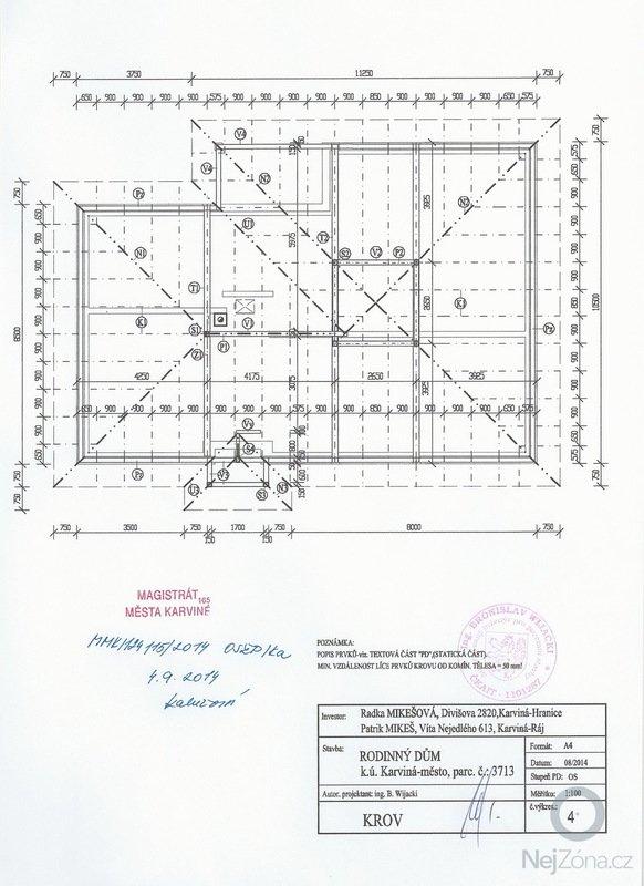 Cenová nabídka krovů střechy: SCAN0161