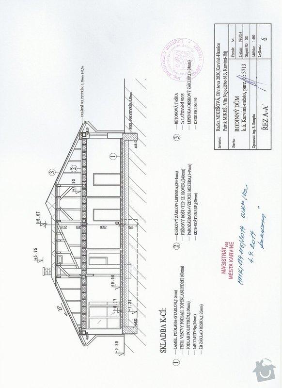 Cenová nabídka krovů střechy: SCAN0165