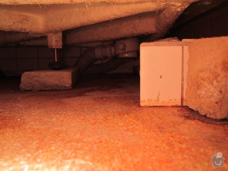 Menší rekonstrukce koupelny / resp. oprava odpadu sprchového koutu: IMG_0017