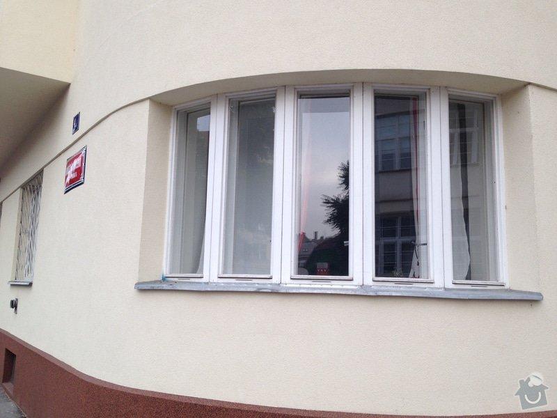 Aplikace zrcadlové folie na okna: IMG_1704