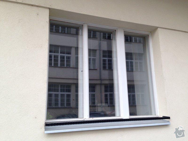 Aplikace zrcadlové folie na okna: IMG_1705