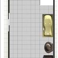 Rekonstrukce koupelny koupelna soucasny stav