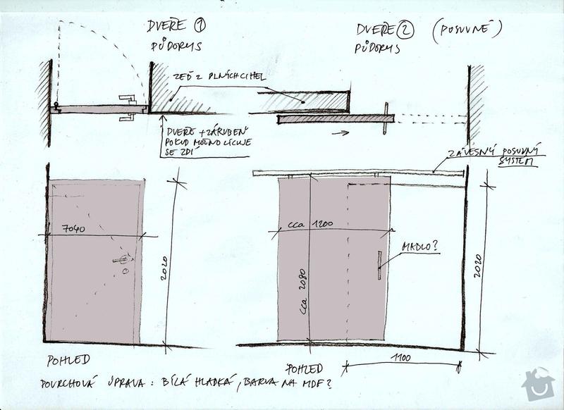 Výroba atypických a posuvných dveří: dvere_sumavenka_kopie