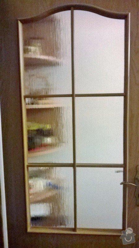 Zasklení dveří v bytě: dvere