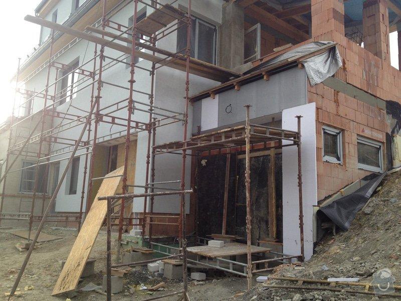 Stavba rodinného domu: 2038