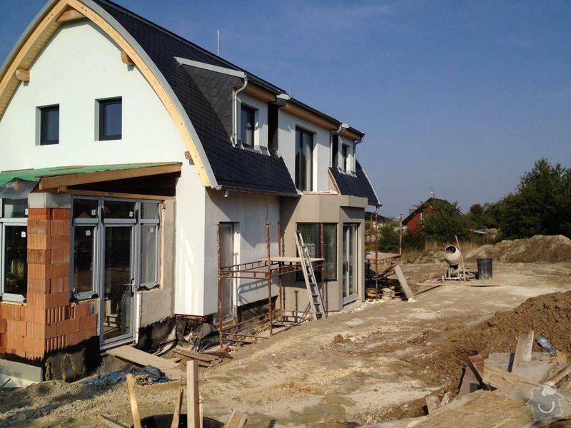 Stavba rodinného domu: 2305