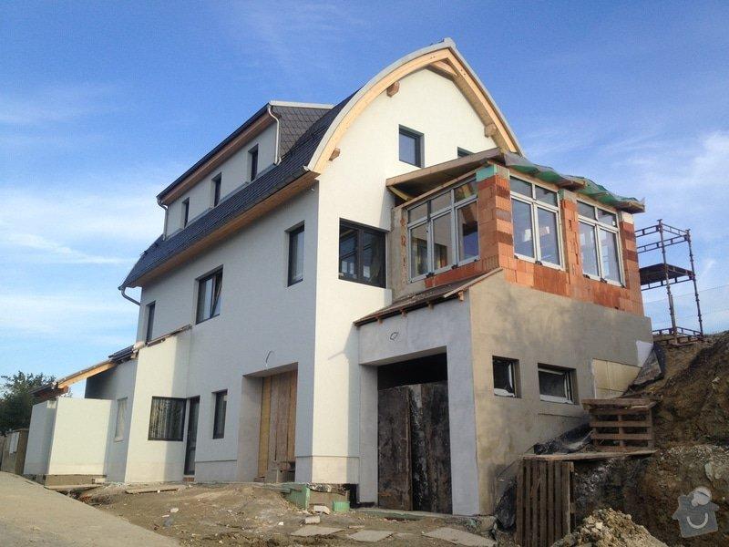 Stavba rodinného domu: 2488