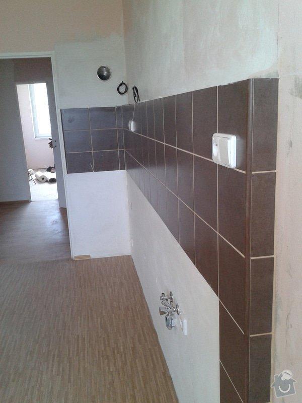 Rekonstrukce bytového jádra a kuchyně: 098