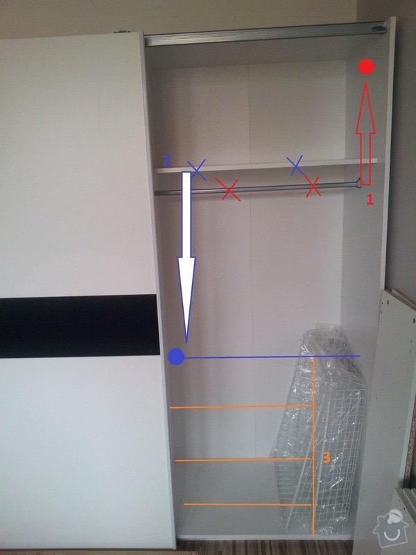 Truhlářské práce - úprava skříně: victor_uprava