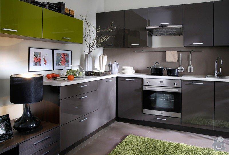 Kuchyňská linka na míru: barva2