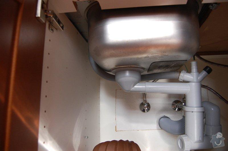 Úprava kuchyňské linky a zapojení myčky: DSC_0247