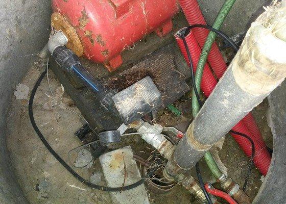 Přepojení studny / zapojení chaty