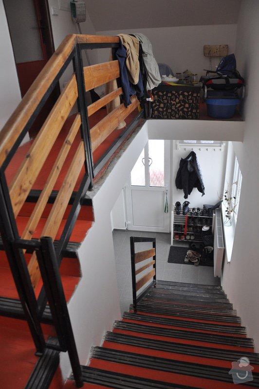 Renovaci schodiště - nový finální povrch bude dekorativní cementová stěrka: DSC_1116