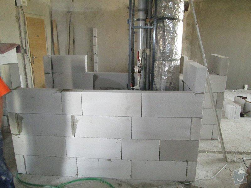 Rekonstrukce jádra a vybourání příček: IMG_5062