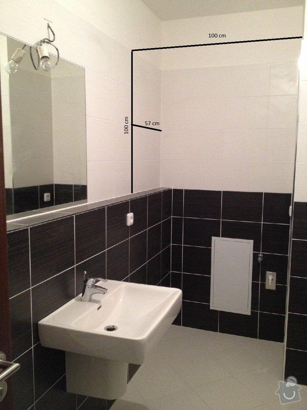 Truhláři - vestavěná skříň do koupelny a police do komory: Koupelna_skrin